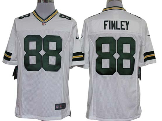 Mens Nfl Green Bay Packers #88 Finley White Limited Jersey
