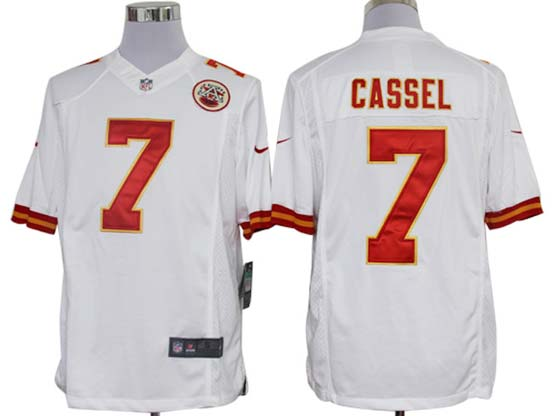 Mens Nfl Kansas City Chiefs #7 Cassel White Limited Jersey