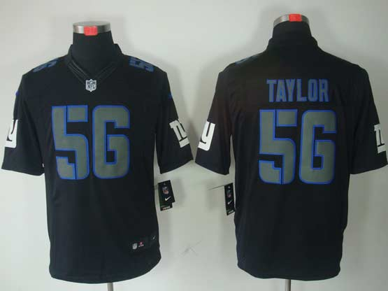 Mens Nfl New York Giants #56 Taylor Black Impact Limited Jersey