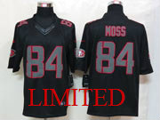 Mens Nfl San Francisco 49ers #84 Moss Black Impact Limited Jersey