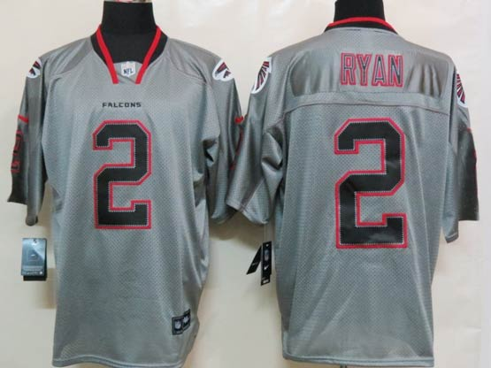 Mens Nfl Atlanta Falcons #2 Ryan Gray (lights Out) Elite Jersey