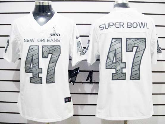 Mens Nfl New Orleans Saints 47th Superbowl Limited Jersey