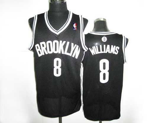 Mens Nba Brooklyn Nets #8 Williams (brooklyn) Black Revolution 30 Mesh Jersey