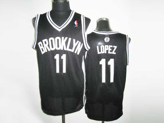 Mens Nba Brooklyn Nets #11 Lopez (brooklyn) Black Revolution 30 Mesh Jersey