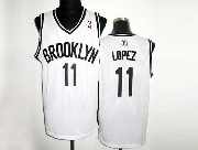 Mens Nba Brooklyn Nets #11 Lopez (brooklyn) White Revolution 30 Mesh Jersey