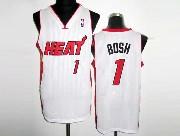 Mens Nba Miami Heat #1 Bosh Revolution 30 Mesh Jersey