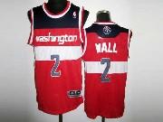 Mens Nba Washington Wizards #2 John Wall Red Revolution 30 Mesh Jersey