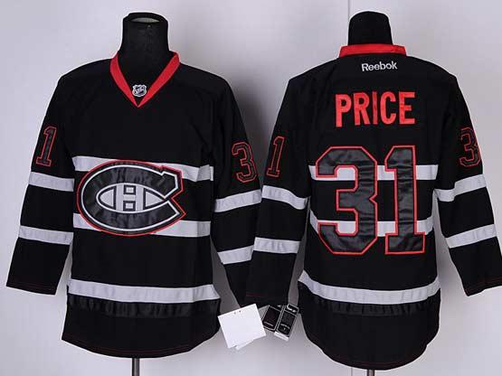 Mens reebok nhl montreal canadiens #31 price black ice (ch) Jersey