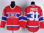 Mens reebok nhl montreal canadiens #31 price red (ch) Jersey