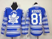 youth reebok nhl toronto maple leafs #81 kessel blue (2014 winter classic) Jersey