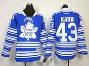 youth reebok nhl toronto maple leafs #43 kadri blue (2014 winter classic) Jersey
