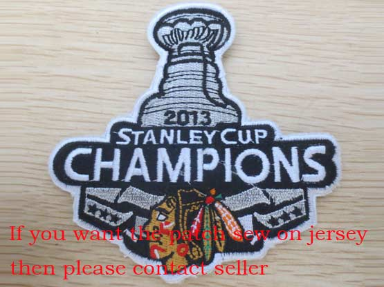 Nhl 2013 Champions Stanley Cup Patch