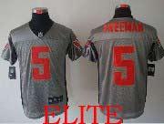 Mens Nfl Tampa Bay Buccaneers #5 Freeman Gray Shadow Elite Jersey