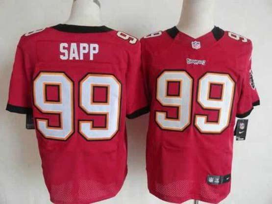 Mens Nfl Tampa Bay Buccaneers #99 Sapp Red Elite Jersey