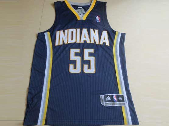 Mens Nba Indiana Pacers #55 Hibbert Blue Revolution 30 Mesh Jersey