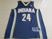 Mens Nba Indiana Pacers #24 George Blue Revolution 30 Mesh Jersey