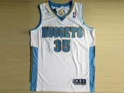 Mens Nba Denver Nuggets #35 Faried White Revolution 30 Mesh Jersey