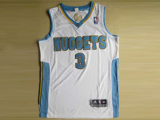 Mens Nba Denver Nuggets #3 Lawson White Revolution 30 Mesh Jersey