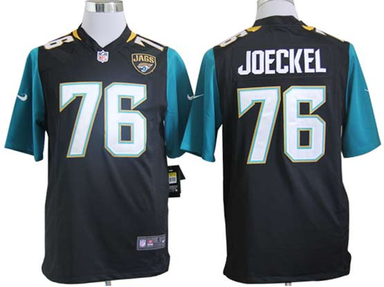 Mens Nfl Jacksonville Jaguars #76 Joeckel Black (2013 New) Game Jersey