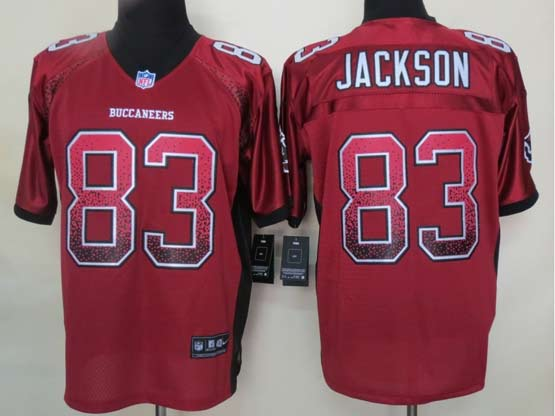 Mens Nfl Tampa Bay Buccaneers #83 Jackson Drift Fashion Red Elite Jersey