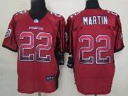 Mens Nfl Tampa Bay Buccaneers #22 Martin Drift Fashion Red Elite Jersey
