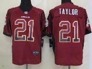 Mens Nfl Washington Redskins #21 Taylor Drift Fashion Red Elite Jersey
