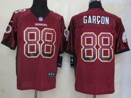 Mens Nfl Washington Redskins #88 Garcon Drift Fashion Red Elite Jersey