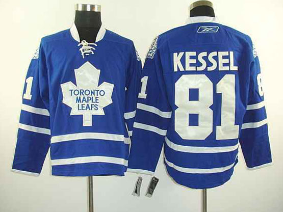 Mens reebok nhl toronto maple leafs #81 kessel blue Jersey