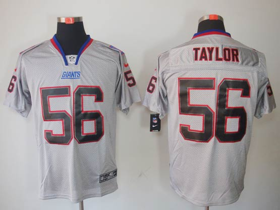 Mens Nfl New York Giants #56 Taylor Gray (new Lights Out) Elite Jersey