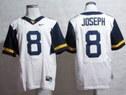 Mens Ncaa Nfl Virginia Mountaineers #8 Joseph White Elite Jersey Gz