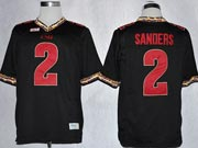 Mens Ncaa Nfl Florida State Seminoles #2 Sanders Black (fsu) Jersey Gz