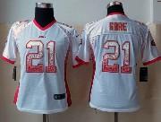 Women  Nfl San Francisco 49ers #21 Gore Drift Fashion White Eliete Jersey