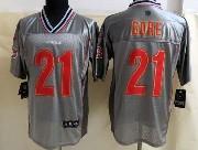 Mens Nfl San Francisco 49ers #21 Gore Gray Vapor (2013 New) Elite Jersey