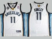 Mens Nba Memphis Grizzlies #11 Conley White Jersey(m)