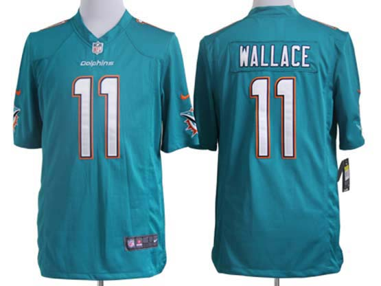 Mens Nfl Miami Dolphins #11 Wallace Green (2013 New) Game Jersey