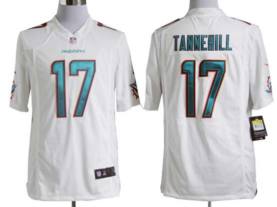 Mens Nfl Miami Dolphins #17 Tannehill White (2013 New) Game Jersey