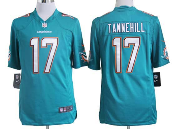 Mens Nfl Miami Dolphins #17 Tannehill Green (2013 New) Game Jersey