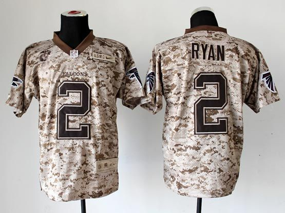 Mens Nfl Atlanta Falcons #2 Ryan Camo Us Mccuu Jersey