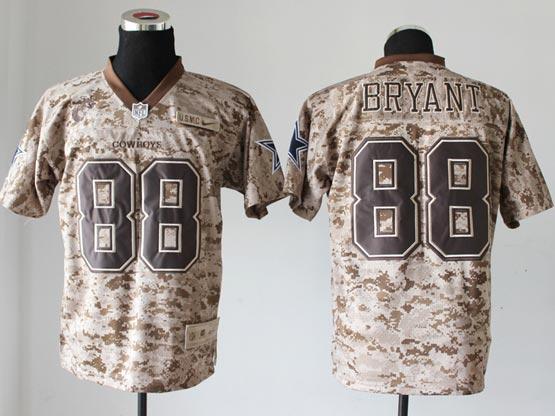 Mens Nfl Dallas Cowboys #88 Bryant Camo Us Mccuu Jersey