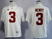 Mens Ncaa Nfl Alabama Crimson #3 Henry White Sec Limited Jersey Gz