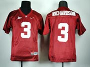 Youth Ncaa Nfl Alabama Crimson #3 Richardson Red Jersey Gz