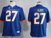 Mens Ncaa Nfl Boise State Broncos #27 Ajayi Blue Jersey Gz