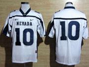 Mens Ncaa Nfl Nevada Wolf Pack #10 Kaepernick White Jersey Gz