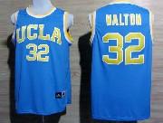 Mens Ncaa Nba Ucla Bruins #32 Walton Light Blue Jersey Gz