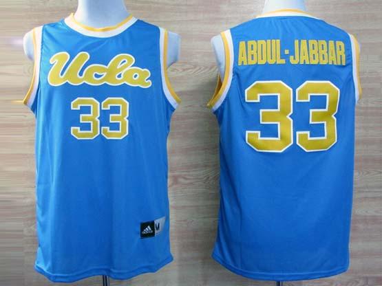 Mens Ncaa Nba Ucla Bruins #33 Abdul.jabbar Light Blue Jersey Gz