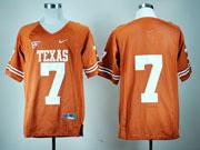 Mens Ncaa Nfl Texas Longhorns #7 Gilbert Orange Jersey Gz