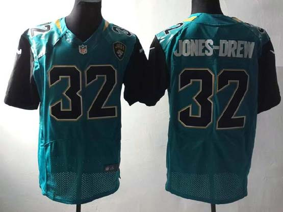 Mens Nfl Jacksonville Jaguars #32 Jones-drew Green (2013 New) Elite Jersey