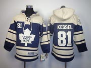 youth nhl toronto maple leafs #81 kessel blue a patch hoodie Jersey