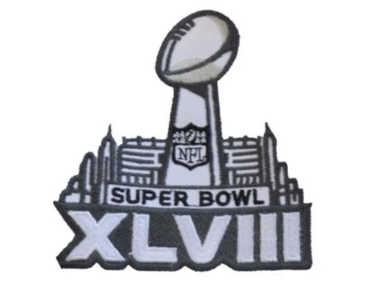 2014 Nfl Super Bowl Patch
