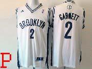 Mens Nba Brooklyn Nets #2 Garnett (brooklyn) White Revolution 30 Jersey (p)